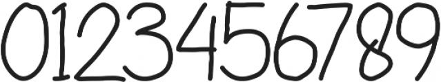 Little Angel otf (400) Font OTHER CHARS