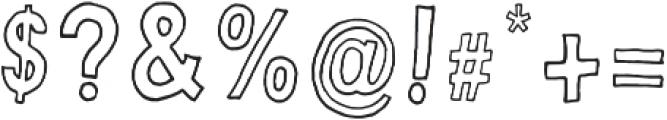Little Dreamer otf (400) Font OTHER CHARS