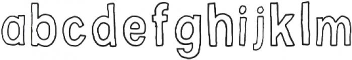Little Dreamer otf (400) Font LOWERCASE