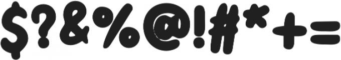 Little Kodomo Semi Bold otf (600) Font OTHER CHARS