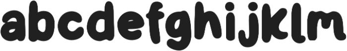 Little Kodomo Semi Bold otf (600) Font LOWERCASE