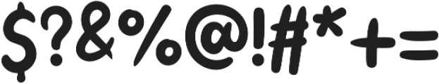 Little Kodomo Semi Light otf (300) Font OTHER CHARS
