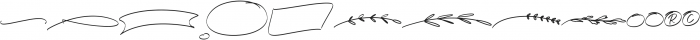 Little Ophelia Extras otf (400) Font UPPERCASE