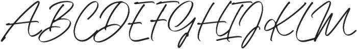 Little Ophelia otf (400) Font UPPERCASE