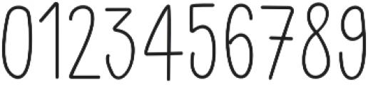 Little Pea Light otf (300) Font OTHER CHARS