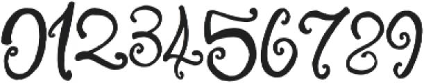 Little Raspberry otf (400) Font OTHER CHARS