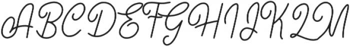 Little Rock otf (400) Font UPPERCASE