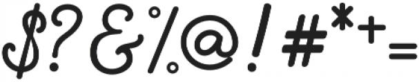LittleLouise otf (700) Font OTHER CHARS