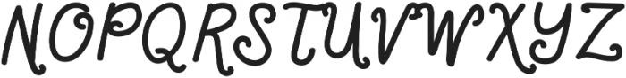 LittleLouise otf (700) Font UPPERCASE