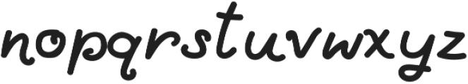 LittleLouise otf (700) Font LOWERCASE