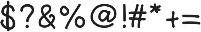 Littlemorning otf (400) Font OTHER CHARS