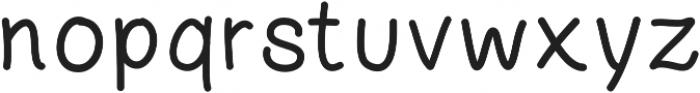 Littlemorning otf (400) Font LOWERCASE