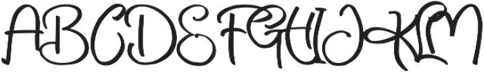 Livingstone 2 ttf (400) Font UPPERCASE