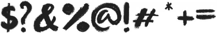 little monster black otf (900) Font OTHER CHARS