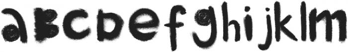 little monster black otf (900) Font UPPERCASE
