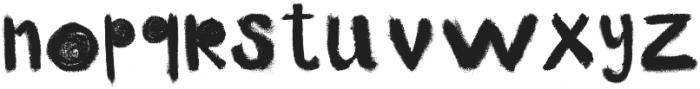 little monster black otf (900) Font LOWERCASE