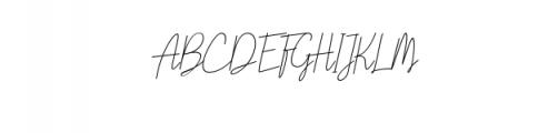 Liberika Oblique.ttf Font UPPERCASE