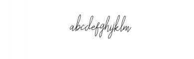 Liberika Oblique.ttf Font LOWERCASE
