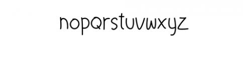 LittleChristmas-Light Font LOWERCASE