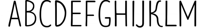 Limes�handmade fontfamily 13 Font UPPERCASE