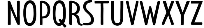 Limes�handmade fontfamily 4 Font UPPERCASE