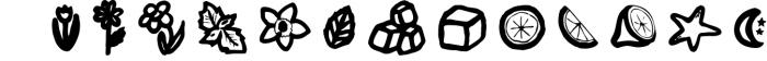 Limes�handmade fontfamily 6 Font LOWERCASE