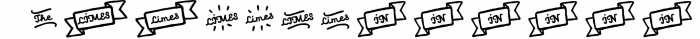 Limes�handmade fontfamily 7 Font LOWERCASE