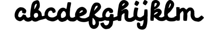 Limes�handmade fontfamily 8 Font LOWERCASE