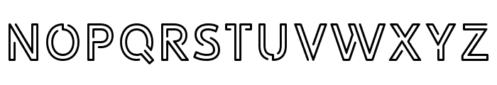 LIBRARY3AMsoft Font UPPERCASE