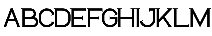 LIFE IS FINAL Font UPPERCASE