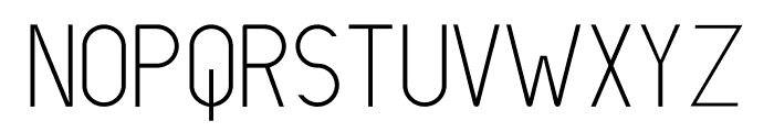 LIONELLO Light Font UPPERCASE