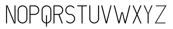 LIONELLO Light Font LOWERCASE