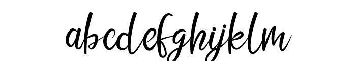 LIONELLO SCRIPT Font LOWERCASE