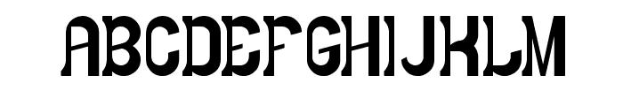 LITTLE COWBOY Font UPPERCASE