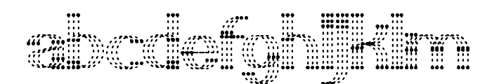 LITTLE RAINY DAY Font LOWERCASE