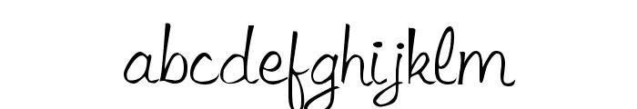 Libby Regular Font LOWERCASE