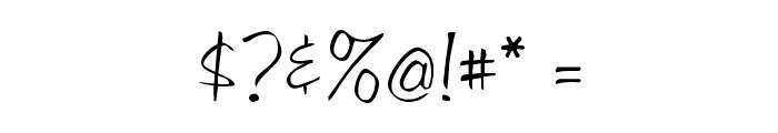 LibbyScript Font OTHER CHARS