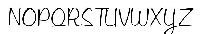 LibbyScript2 Script2:001.001 Font UPPERCASE