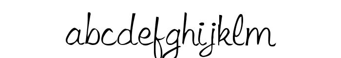 LibbyScript Font LOWERCASE