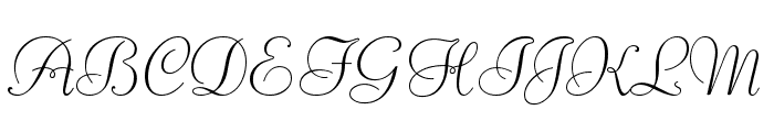 Liberate Normal Font UPPERCASE