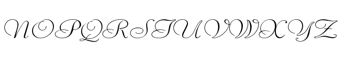 Liberate Wide Normal Font UPPERCASE