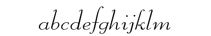 Liberate Wide Normal Font LOWERCASE