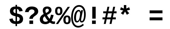Liberation Mono Bold Font OTHER CHARS