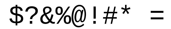 Liberation Mono Regular Font OTHER CHARS