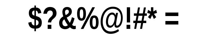 Liberation Sans Narrow Bold Font OTHER CHARS