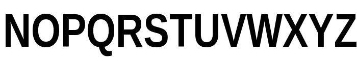 Liberation Sans Narrow Bold Font UPPERCASE