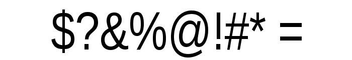 Liberation Sans Narrow Font OTHER CHARS