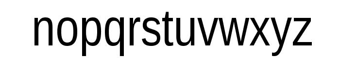 Liberation Sans Narrow Font LOWERCASE