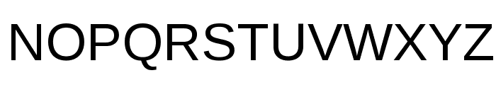 Liberation Sans Regular Font UPPERCASE