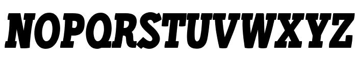 Libertatus-Italic Font UPPERCASE